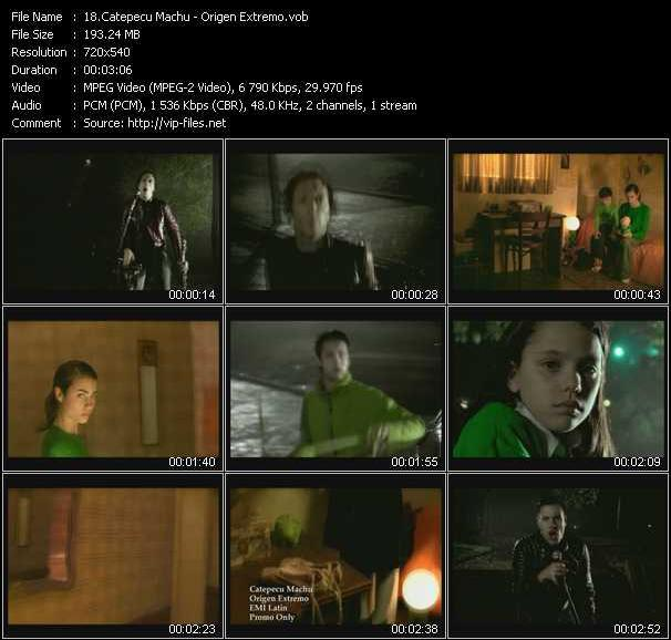 Catepecu Machu video screenshot