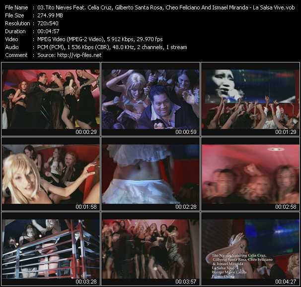 Tito Nieves Feat. Celia Cruz, Gilberto Santa Rosa, Cheo Feliciano And Ismael Miranda video screenshot