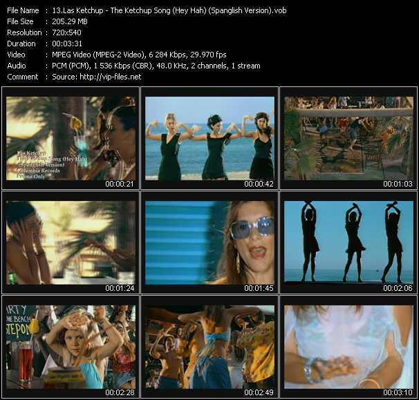 Las Ketchup video screenshot