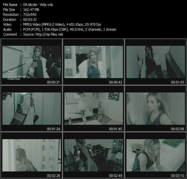 Nicole video screenshot