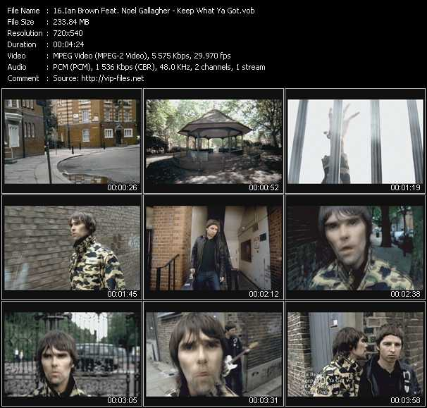 Ian Brown Feat. Noel Gallagher video screenshot