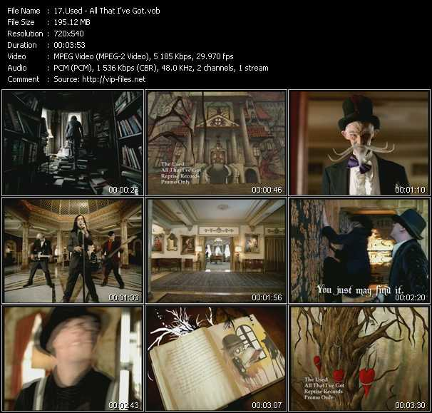 Used video screenshot