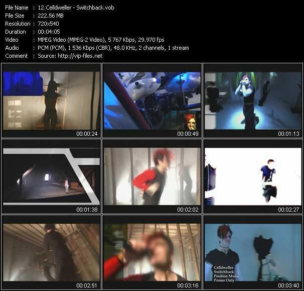 Celldweller video screenshot