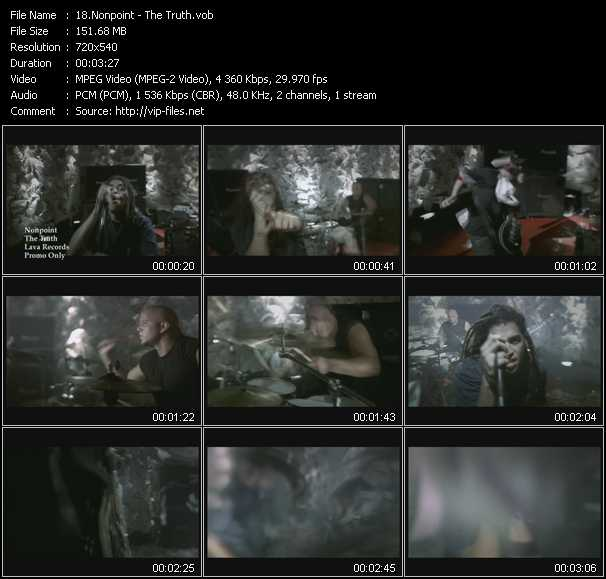 Nonpoint video screenshot