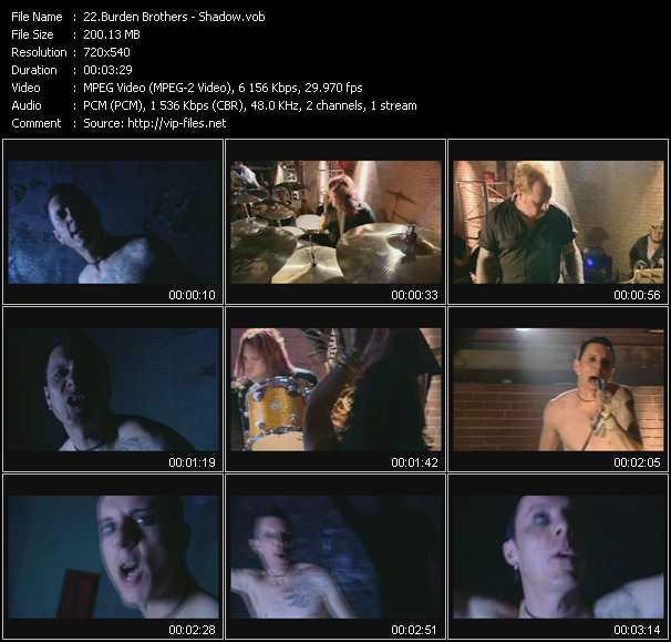 Burden Brothers video screenshot