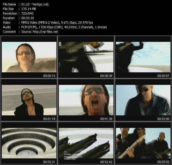 video Vertigo screen
