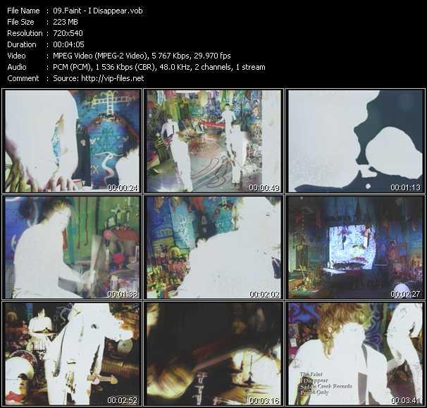 Faint video screenshot