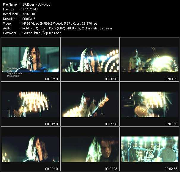 Exies video screenshot