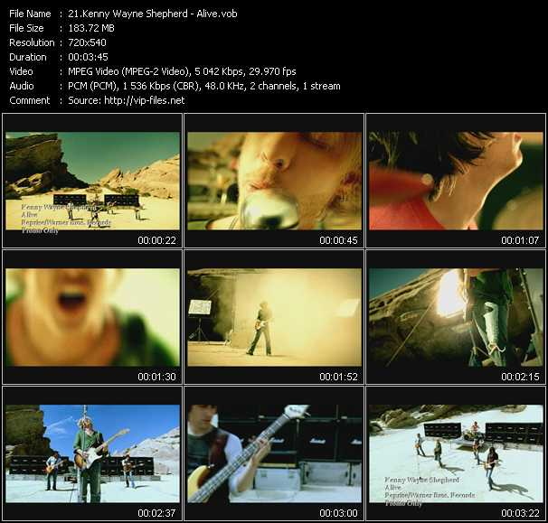 Kenny Wayne Shepherd video screenshot