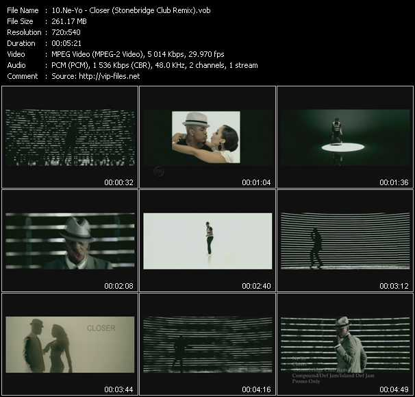 video Closer (Stonebridge Club Remix) screen