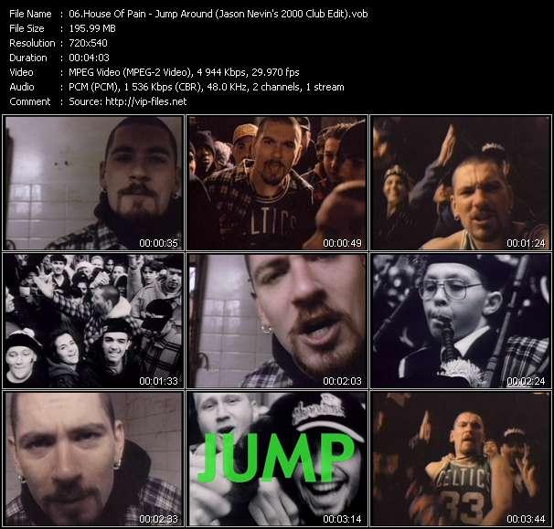 video Jump Around (Jason Nevins 2000 Club Edit) screen