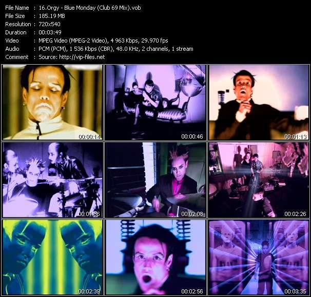 Orgy video screenshot