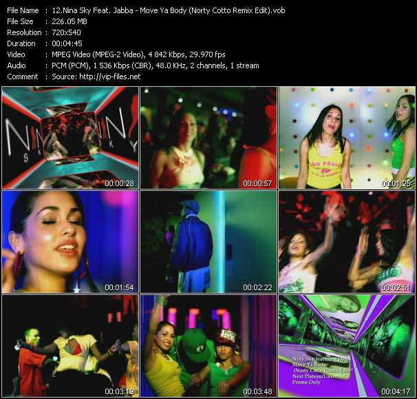 Nina Sky Feat. Jabba video screenshot