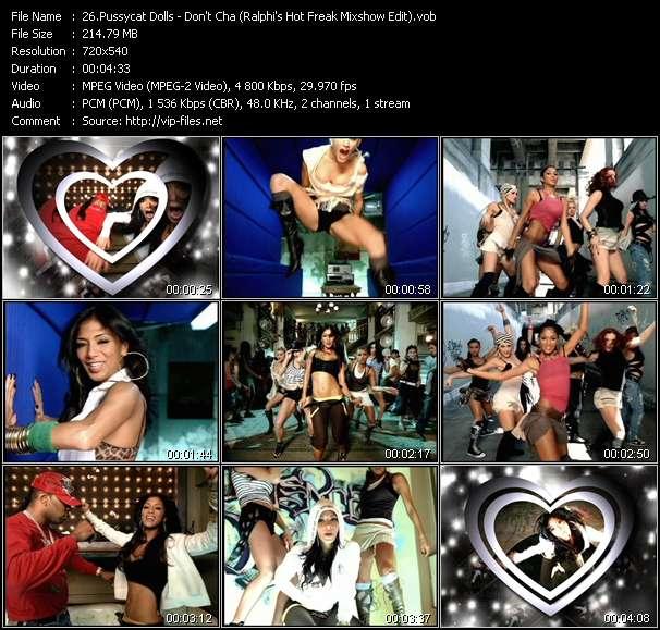 Pussycat Dolls video screenshot