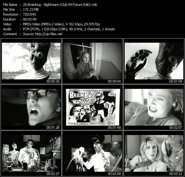 video Nightmare (Club 69 Future Edit) screen