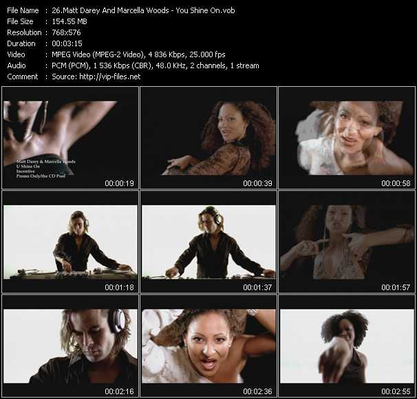 Matt Darey And Marcella Woods video screenshot