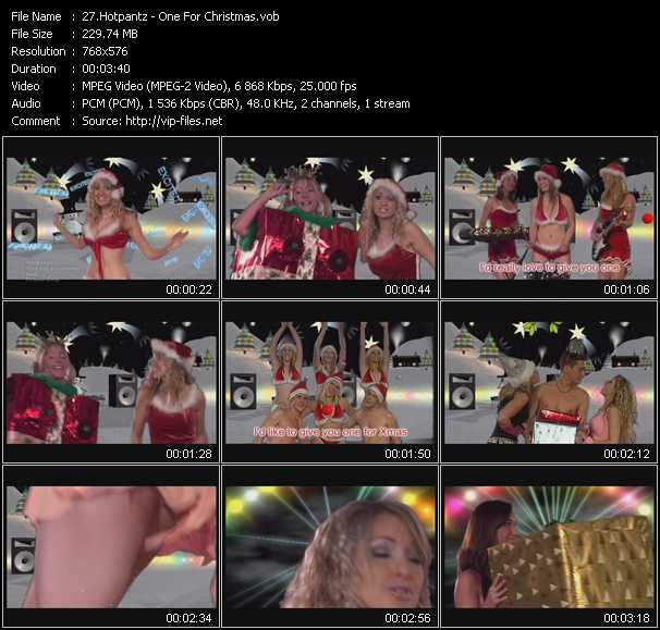 Hotpantz video screenshot