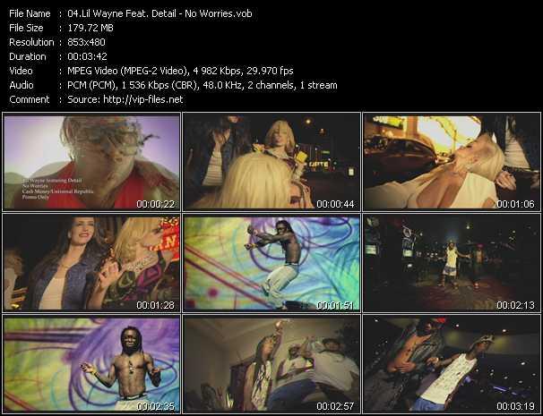 Lil' Wayne Feat. Detail video screenshot