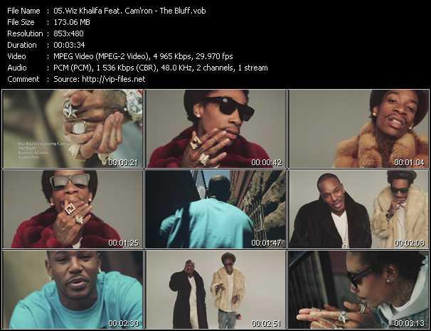Wiz Khalifa Feat. Cam'ron video screenshot