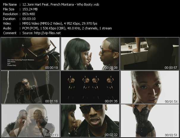 Jonn Hart Feat. French Montana video screenshot