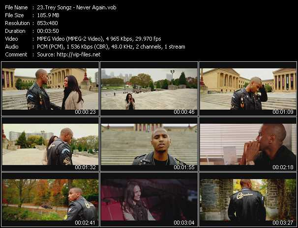 Trey Songz video screenshot