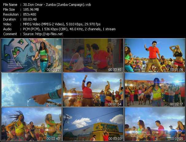 video Zumba (Zumba Campaign) screen