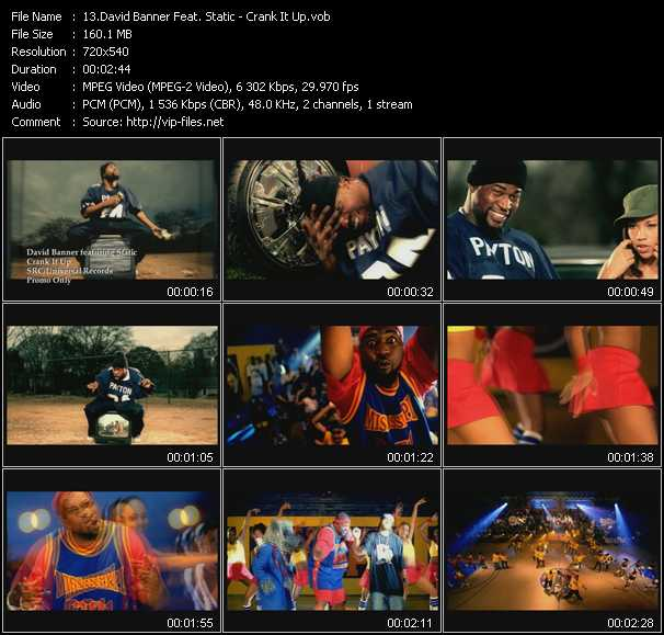 David Banner Feat. Static video screenshot