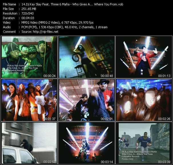 Dj Kay Slay (Dj Kayslay) Feat. Three 6 Mafia video screenshot