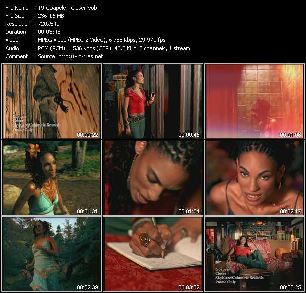 Goapele video screenshot