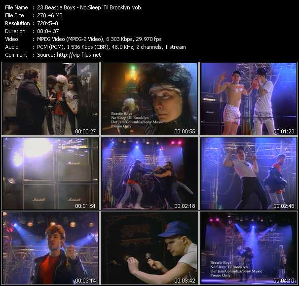 Beastie Boys video screenshot