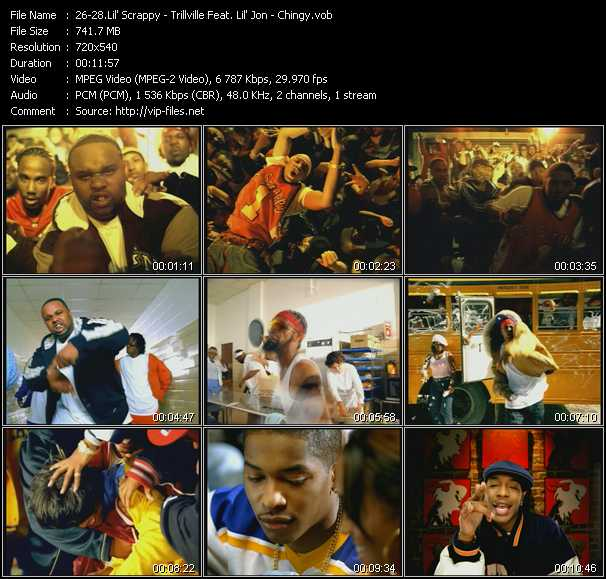 Lil' Scrappy - Trillville Feat. Lil' Jon - Chingy video screenshot