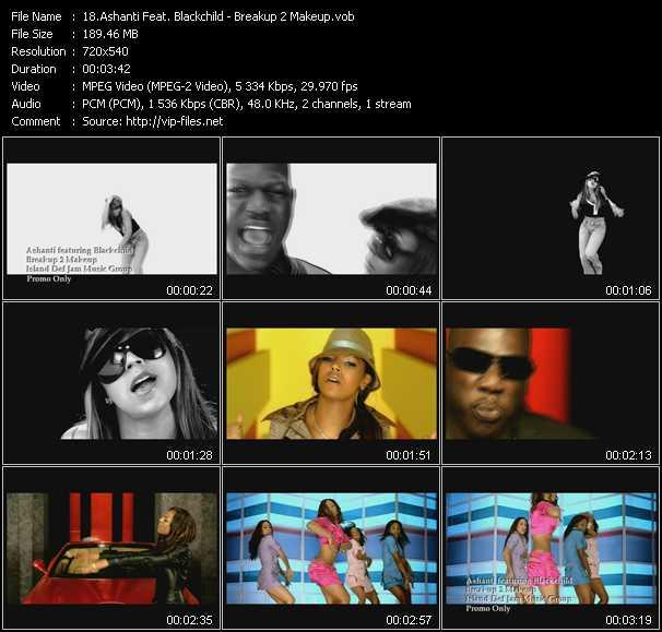 Ashanti Feat. Blackchild video screenshot