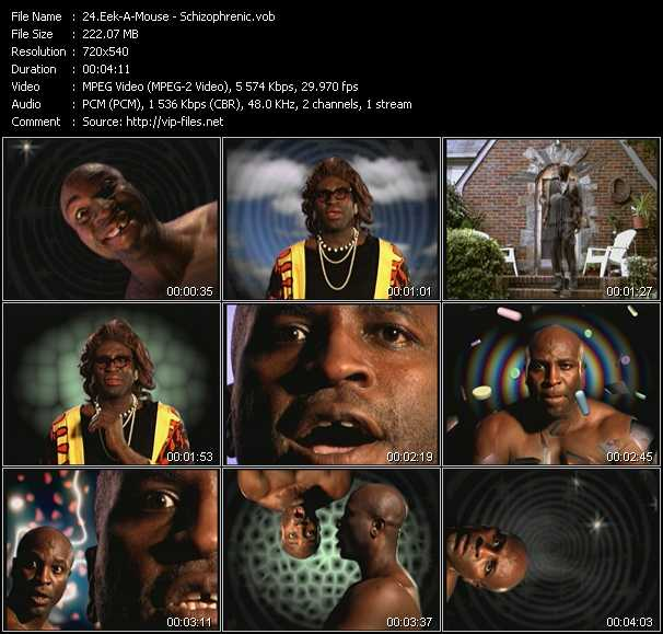 Eek-A-Mouse video screenshot
