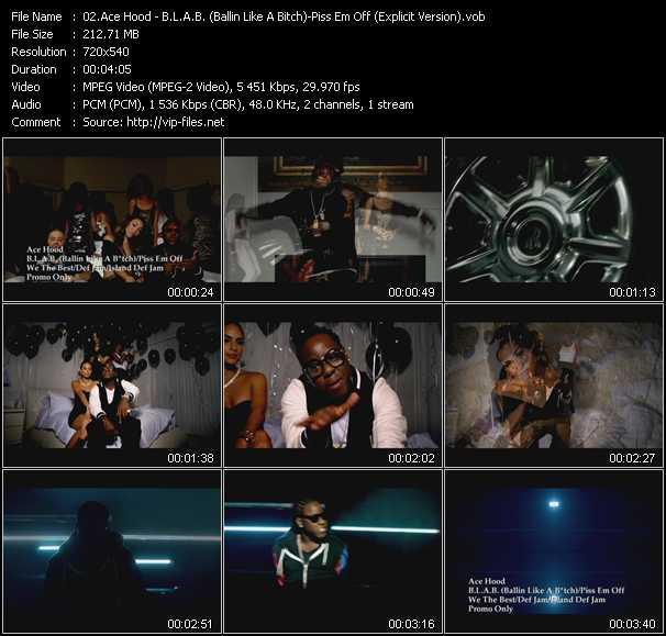 Ace Hood video screenshot