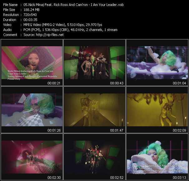 Nicki Minaj Feat. Rick Ross And Cam'ron video screenshot
