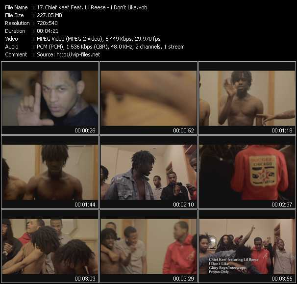 Chief Keef Feat. Lil' Reese video screenshot