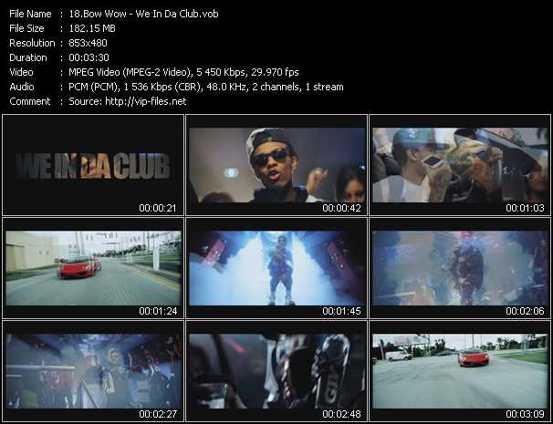 Bow Wow video screenshot