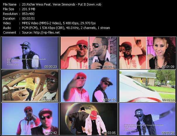 Richie Wess Feat. Verse Simmonds video screenshot