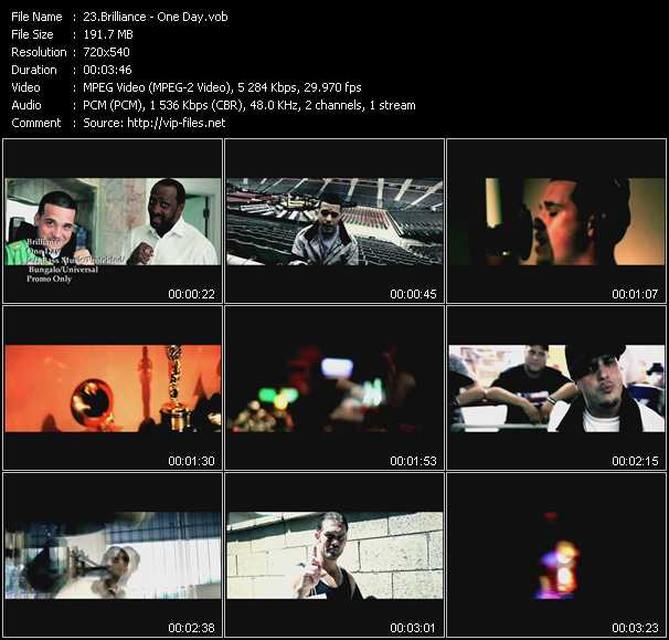 Brilliance video screenshot
