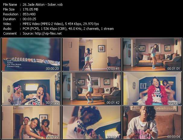 Jade Alston video screenshot