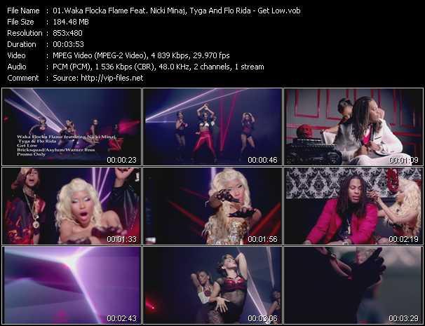 Waka Flocka Flame Feat. Nicki Minaj, Tyga And Flo Rida video screenshot