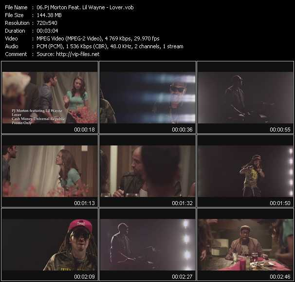Pj Morton Feat. Lil' Wayne video screenshot