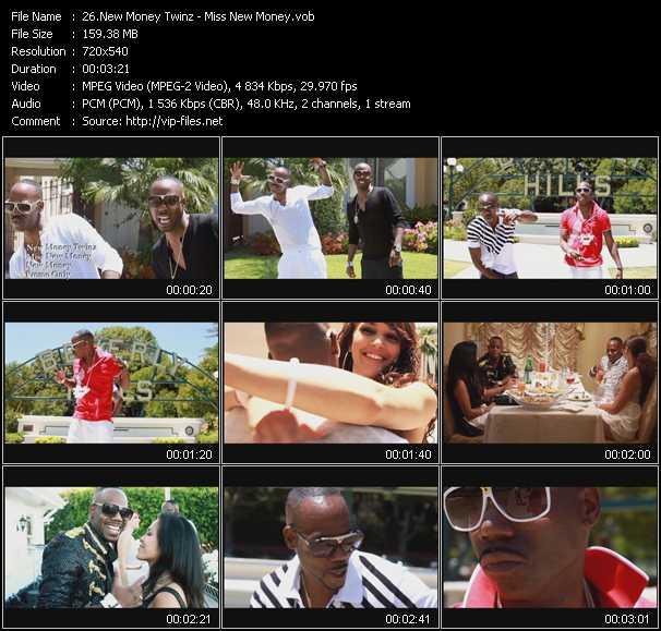 New Money Twinz video screenshot