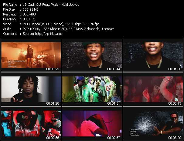 Cash Out Feat. Wale video screenshot