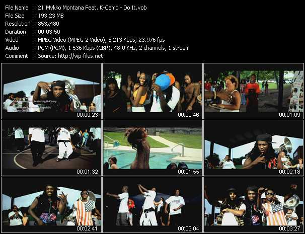 Mykko Montana Feat. K-Camp video screenshot