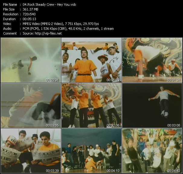 Rock Steady Crew video screenshot