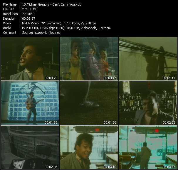 Michael Gregory video screenshot