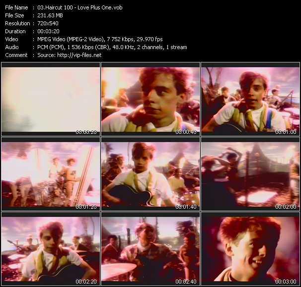Haircut 100 video screenshot