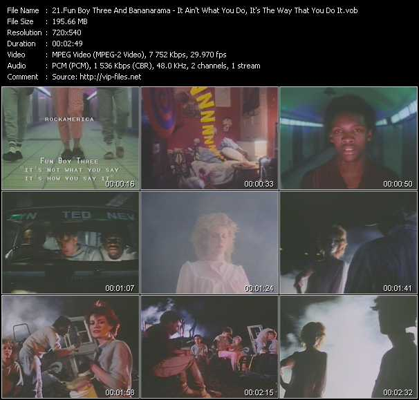 Fun Boy Three And Bananarama video screenshot
