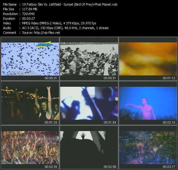 Fatboy Slim Vs. Leftfield video screenshot
